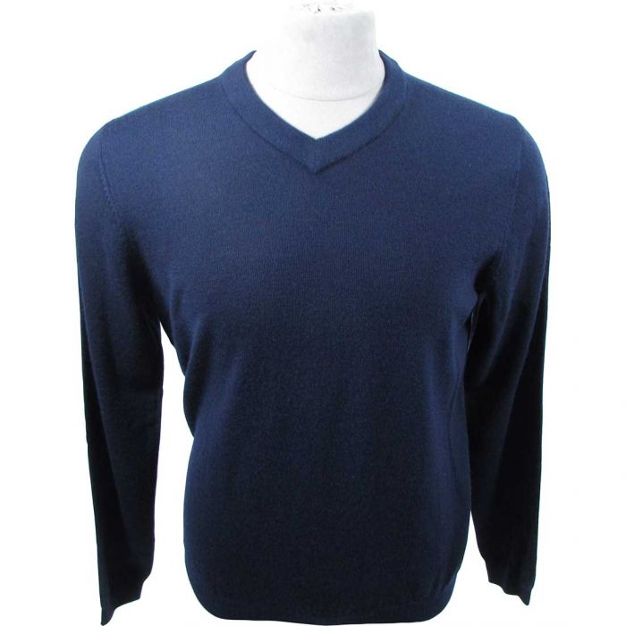 Ashworth Lightweight Wool V-Neck Sweater