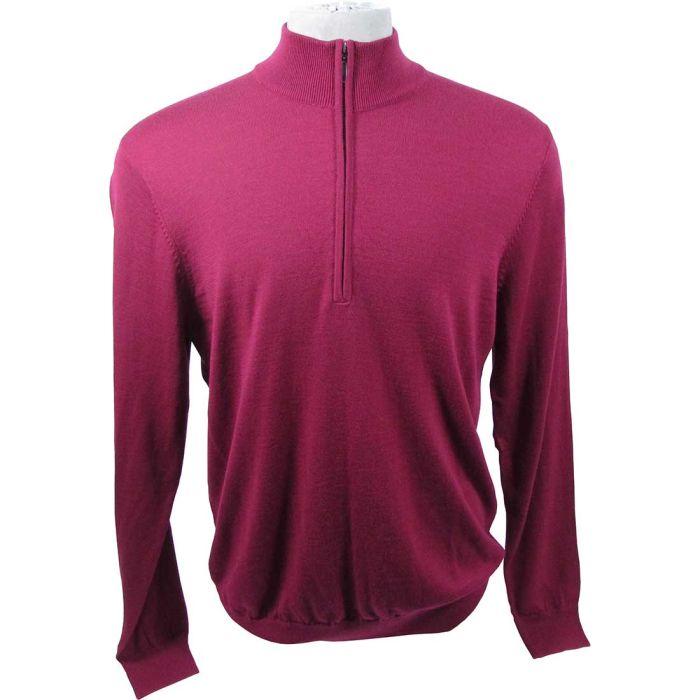 Ashworth Lightweight Merino Half-Zip Sweater