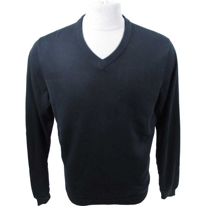 Ashworth Solid V-Neck Sweater
