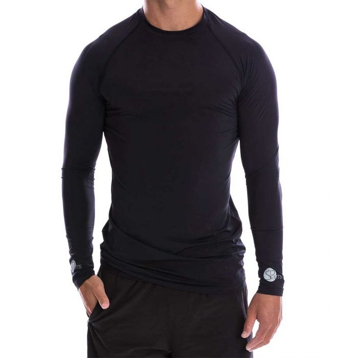 SParms SP Body Round Neck Sun Shirt