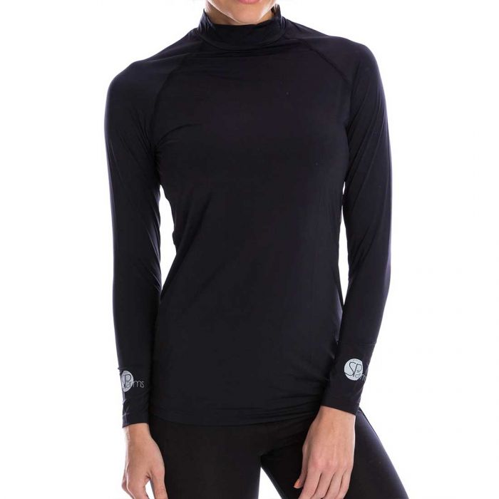 SParms Women's SP Body High Neck Sun Shirt