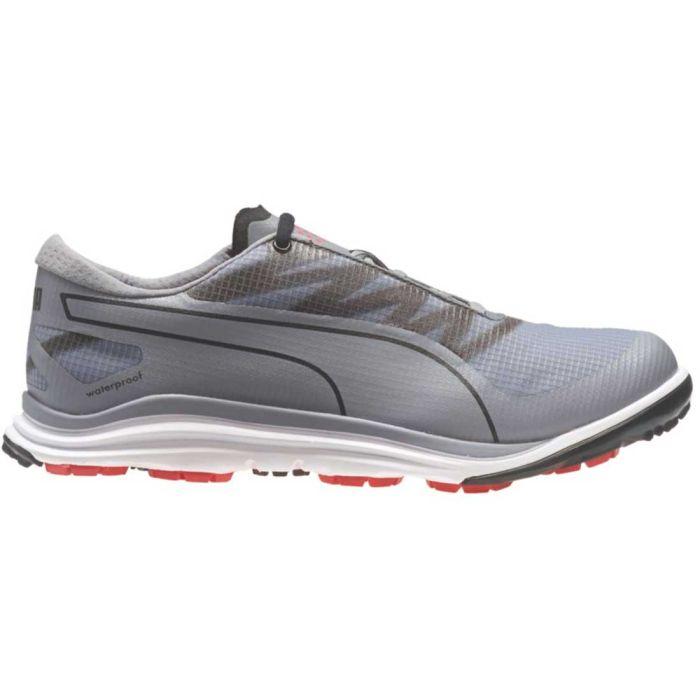 Puma BioDrive Golf Shoes Quicksilver/Cayenne