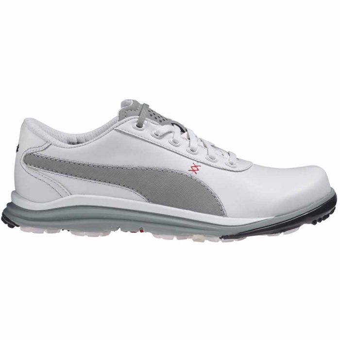 Puma BioDrive Leather Golf Shoes White/Grey