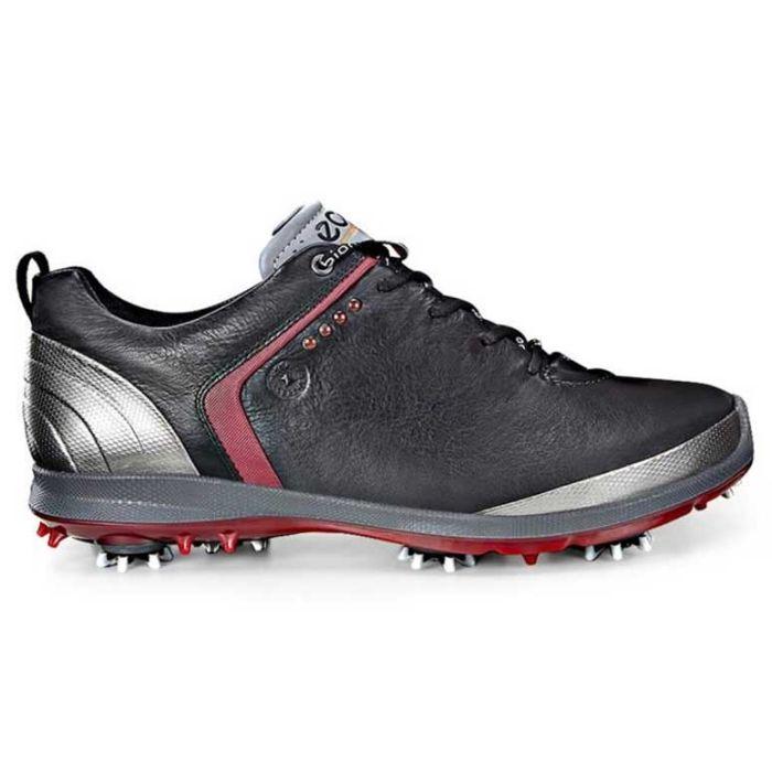 Ecco BIOM G2 GTX Golf Shoes Black/Brick