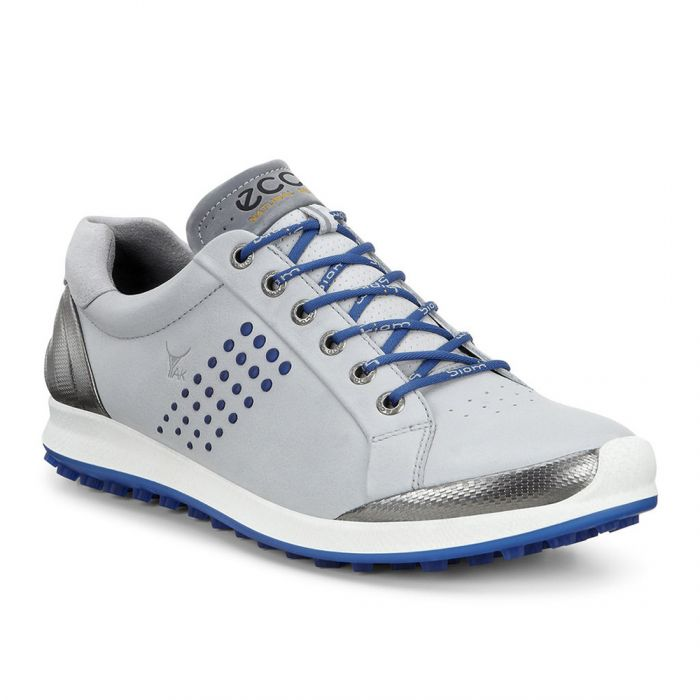 Ecco BIOM Hybrid 2 Golf Shoes Concrete/Royal