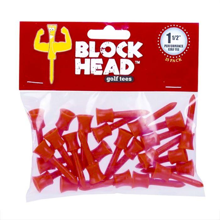 Block Head Golf Tees