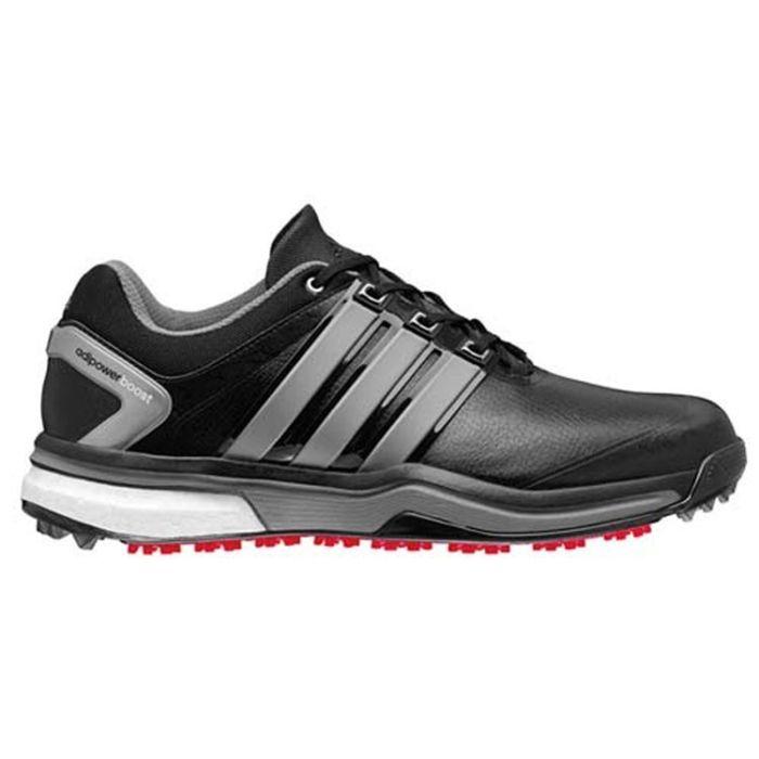 Adidas AdiPower Boost Golf Shoes Black/Silver