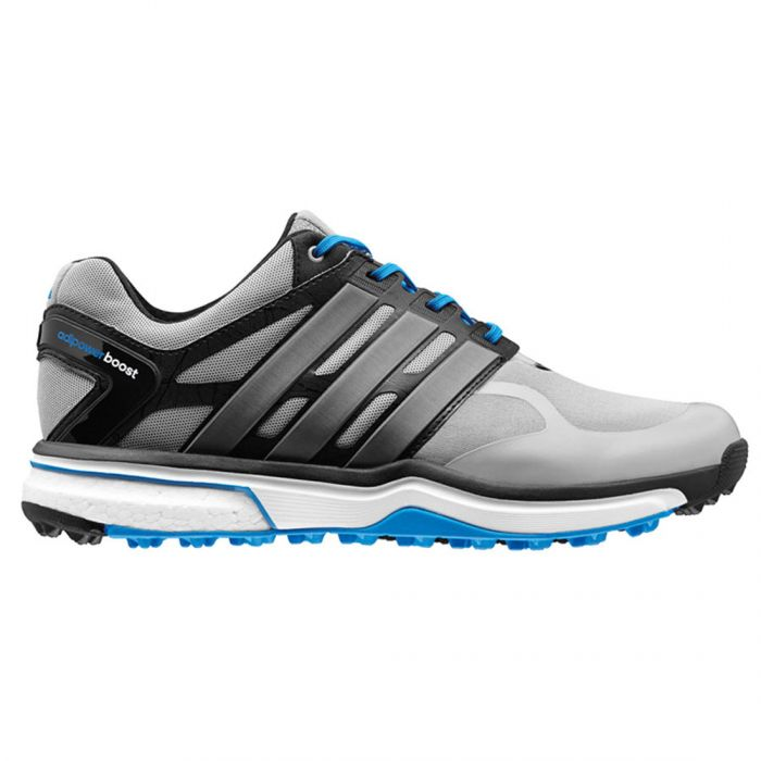 Adidas AdiPower Sport Boost Golf Shoes Silver/Black/Blue