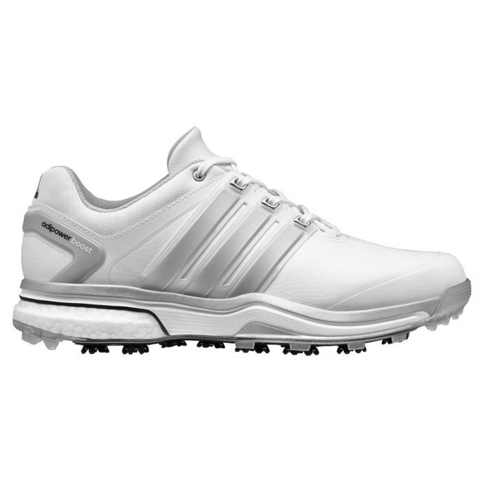 Adidas AdiPower Boost Golf Shoes White/Silver