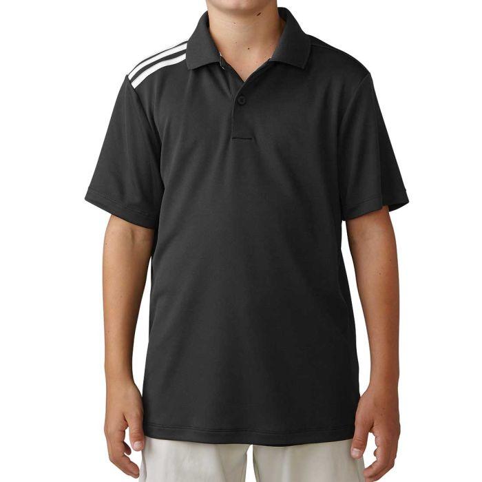 Adidas Boys Climacool 3-Stripes Polo