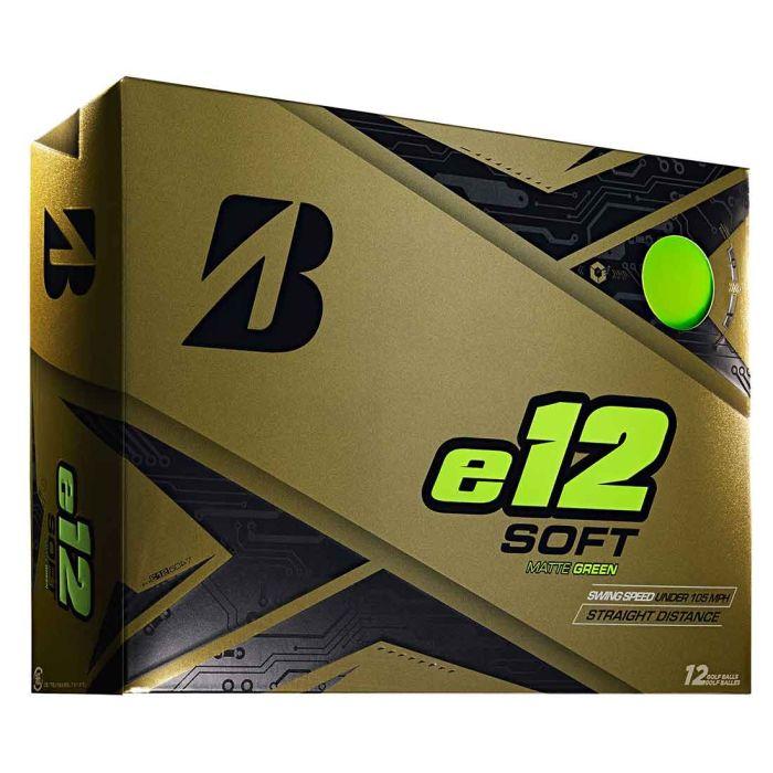 Bridgestone e12 Soft Matte Green Golf Balls