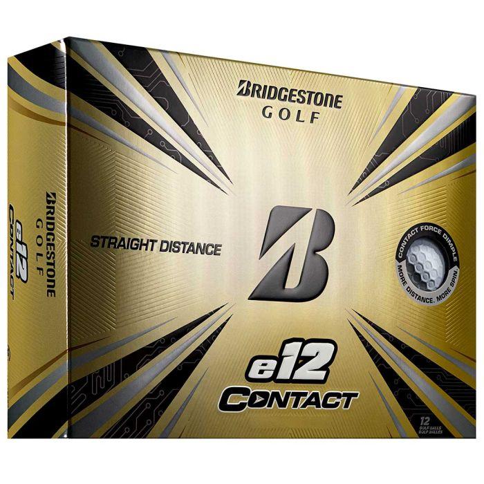Bridgestone e12 Contact White Golf Balls
