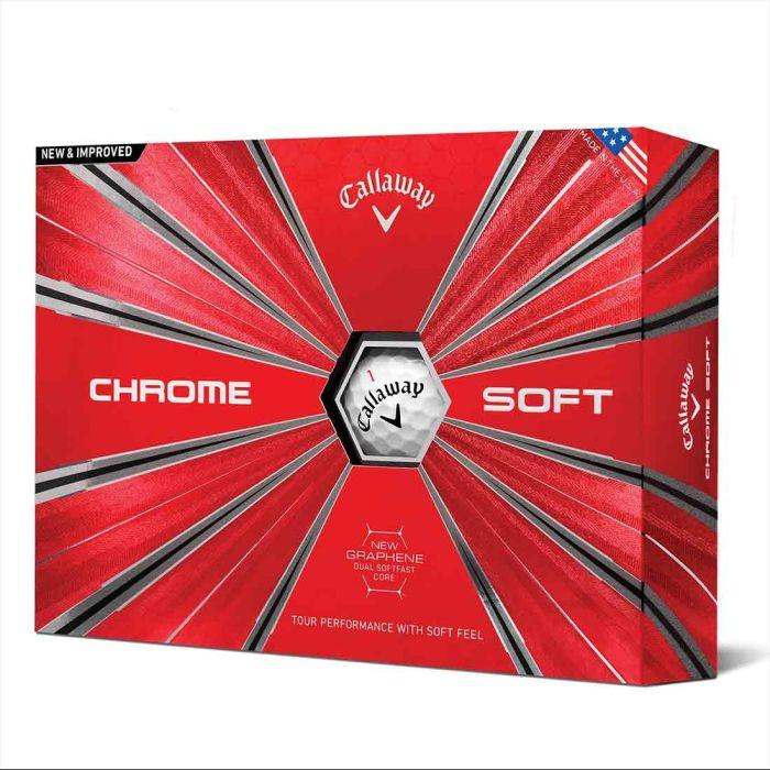 Callaway 2018 Chrome Soft Golf Balls