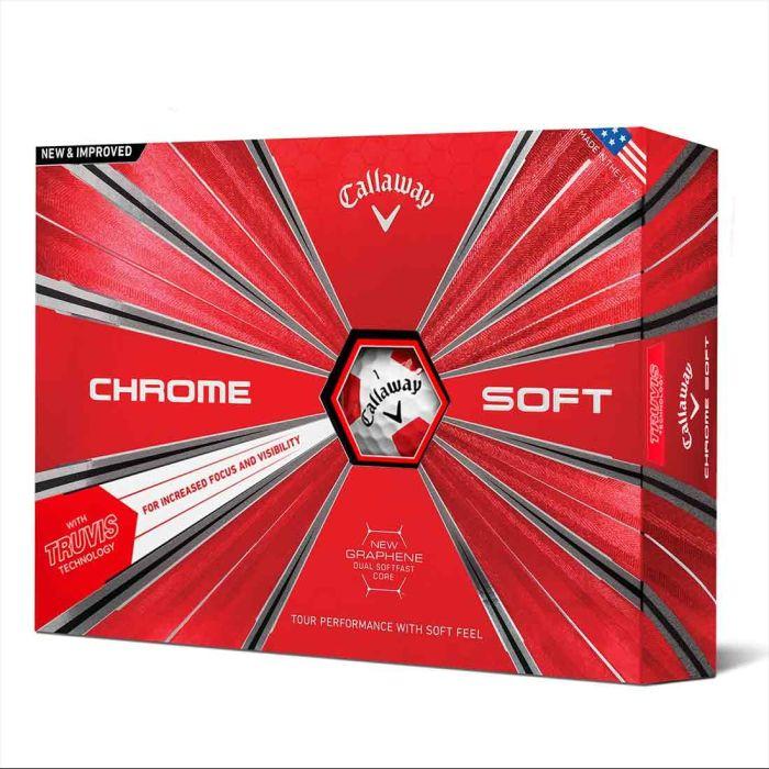 Callaway 2018 Chrome Soft Truvis Golf Balls