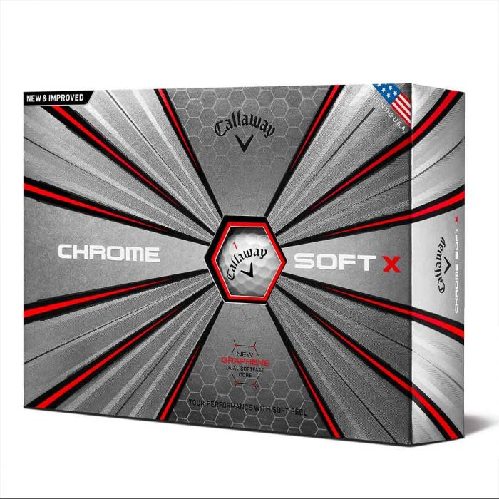 Callaway 2018 Chrome Soft X Golf Balls