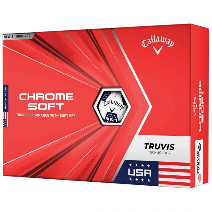 Callaway Chrome Soft Truvis USA Golf Balls