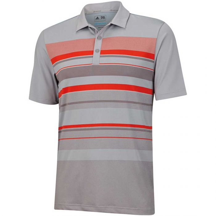 Adidas Climacool Sport Performance Stripe Polo