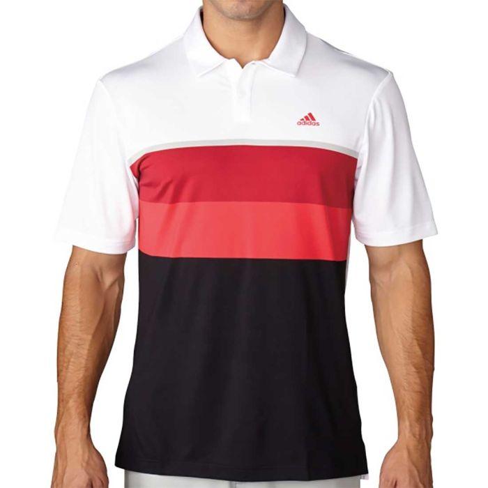 Adidas Climacool Engineered Striped Polo