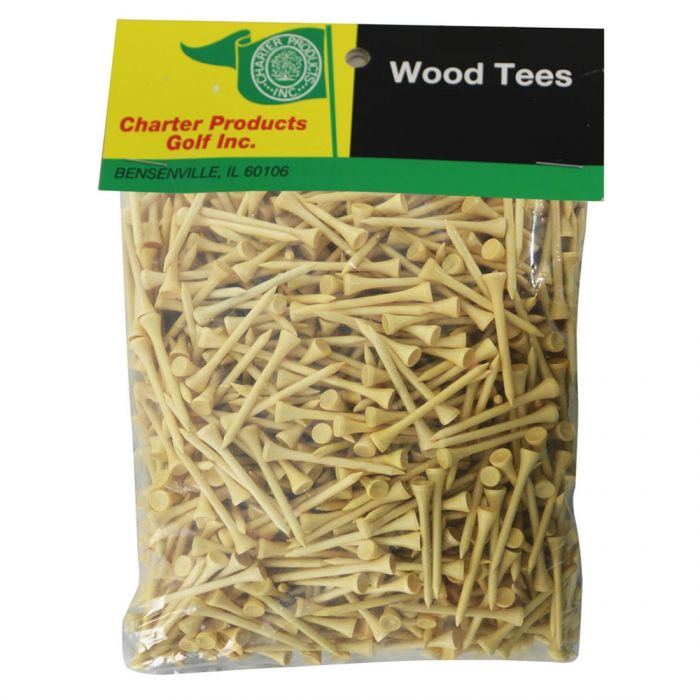 Charter Wood Golf Tees