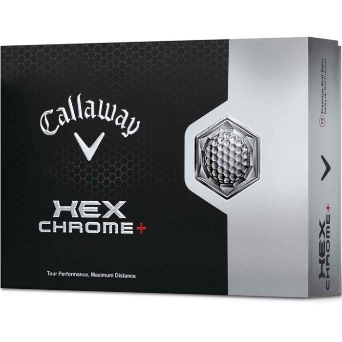 Callaway HEX Chrome+ Golf Balls