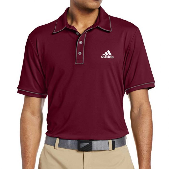 Adidas Puremotion Piped Polo