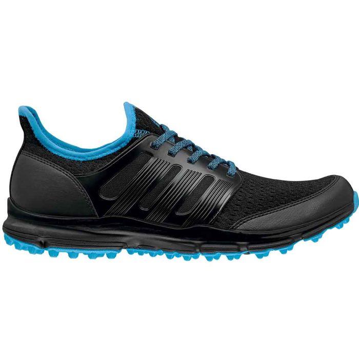 Adidas Climacool Golf Shoes Black/Cyan