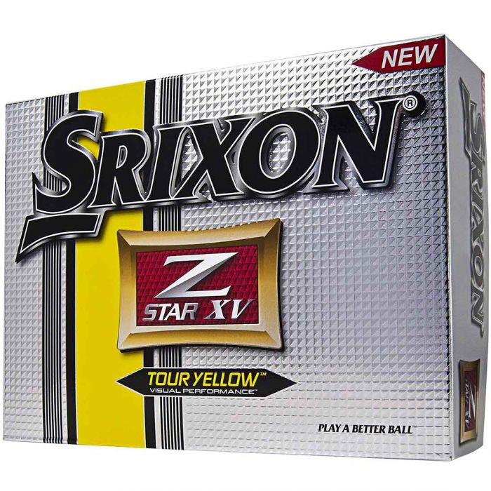 Srixon 2014 Z-Star XV Yellow Golf Balls