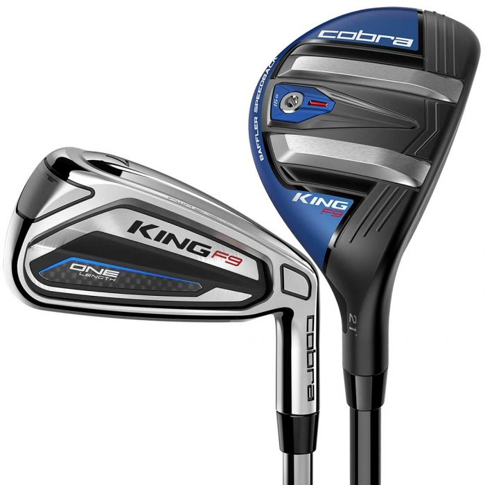 Cobra King F9 Speedback ONE Length Combo Irons