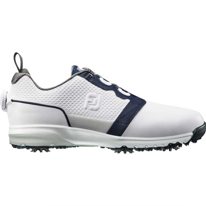 FootJoy Contour FIT Boa Golf Shoes White/Navy