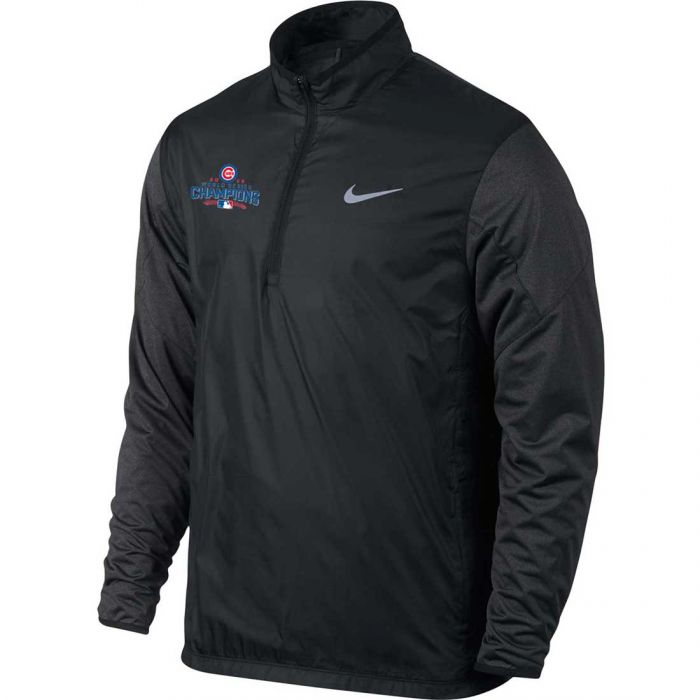 Nike Chicago Cubs 2016 World Series Champions 1/2 Zip Shield Pullover