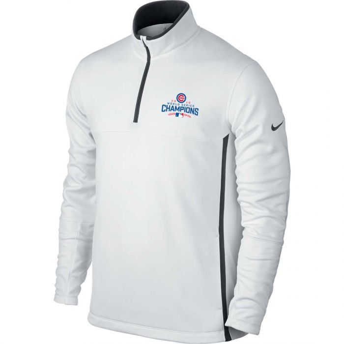 Nike Chicago Cubs 2016 World Series Champions Therma-FIT 1/2-Zip Pullover