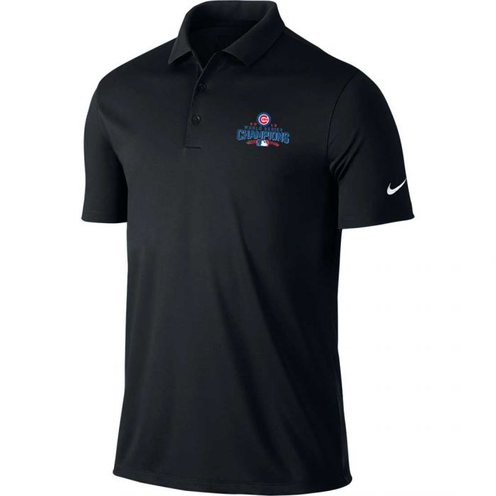 Nike Chicago Cubs 2016 World Series Champions Victory Polo