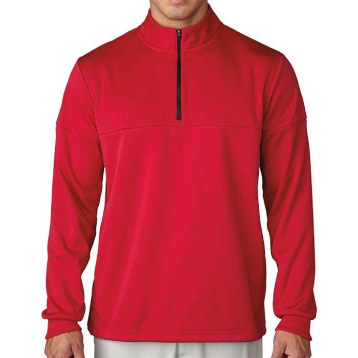 Adidas ClimaWarm Textured Dot 1/2 Zip Pullover