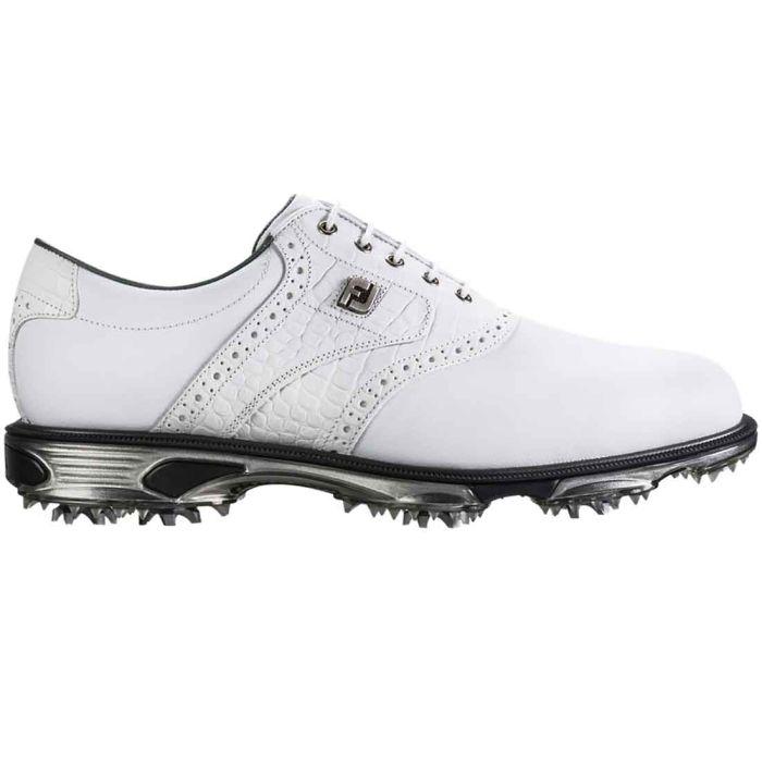 FootJoy DryJoys Tour Golf Shoes White/White Crocodile