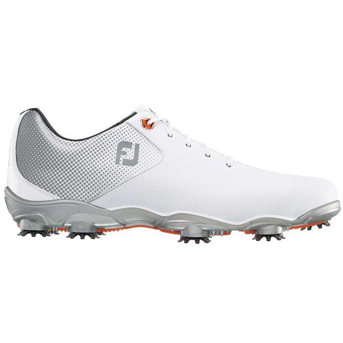 FootJoy D.N.A. Helix Golf Shoes White/Silver
