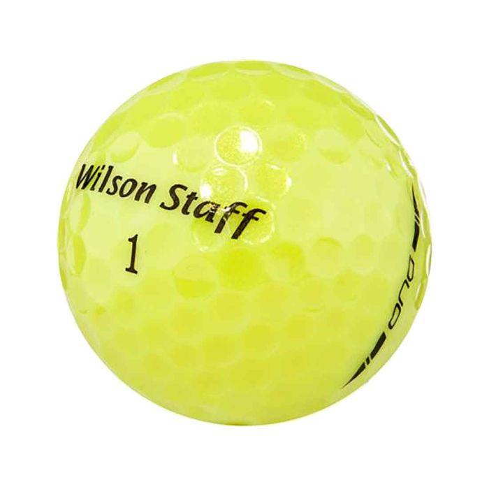 Wilson Staff 2014 DUO Yellow Golf Balls