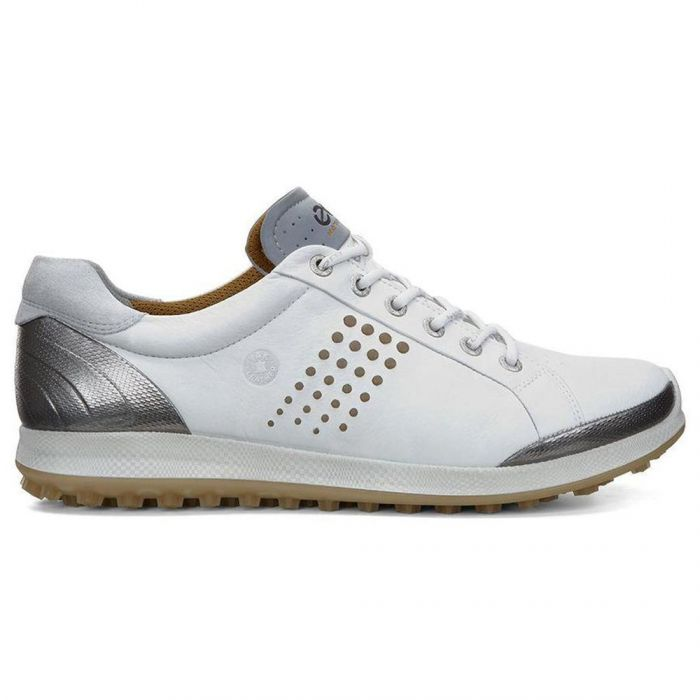 Ecco BIOM Hybrid 2 Golf Shoes White/Mineral