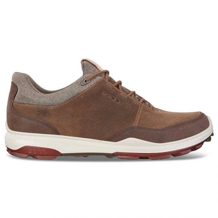 Ecco BIOM Hybrid 3 GTX Golf Shoes Camel