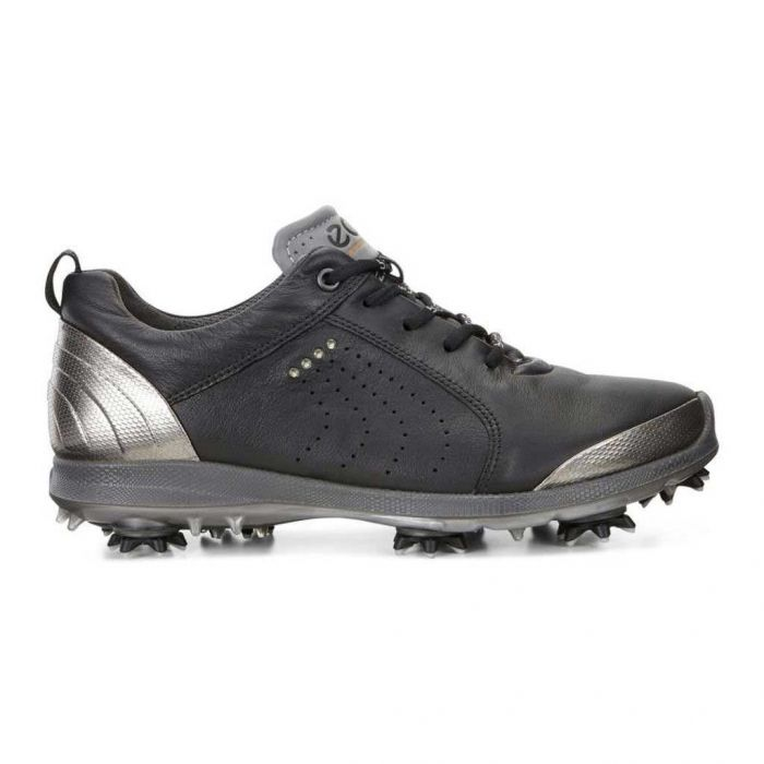 Ecco Women's BIOM G2 Free Golf Shoes Black/Buffed Silver