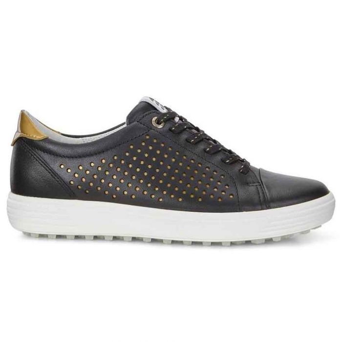 Ecco Women's Casual Hybrid Perf Golf Shoes Black