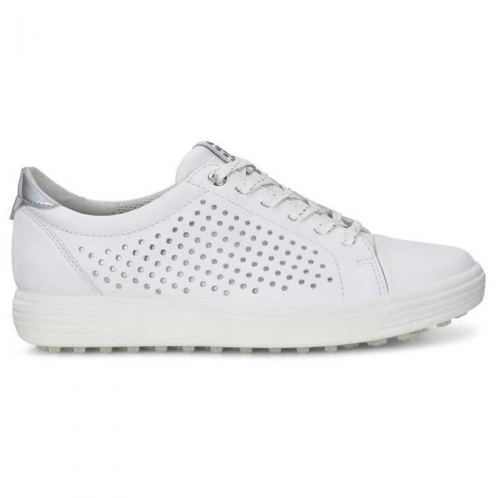 Ecco Women's Casual Hybrid Perf Golf Shoes White