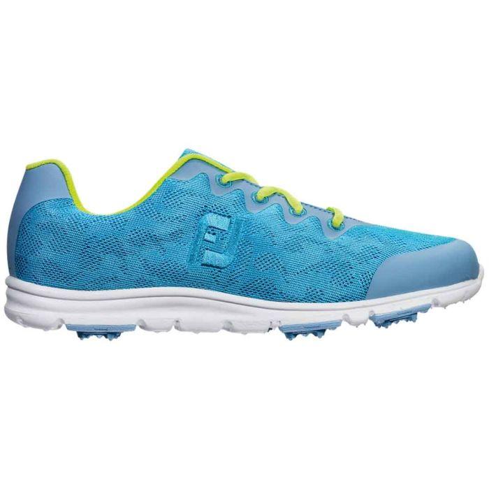 FootJoy Women's enJoy Golf Shoes Pool Blue