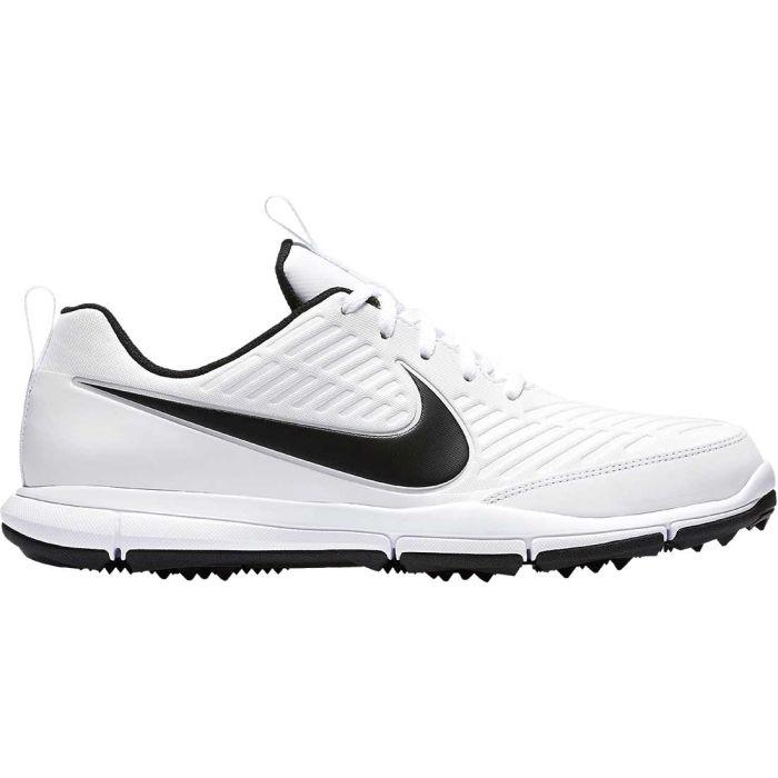 Nike Explorer 2 Golf Shoes White/Black