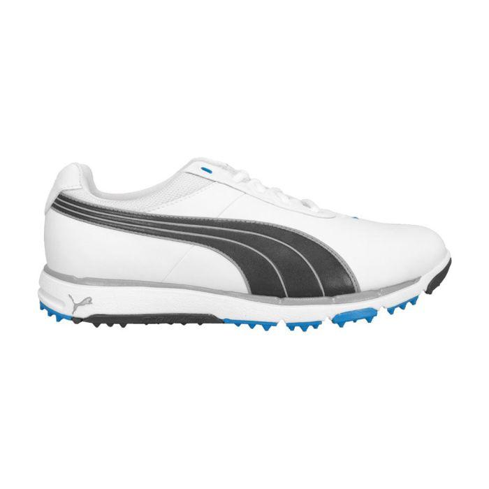 Puma Faas Grip 2.0 Golf Shoes White/Black/Blue
