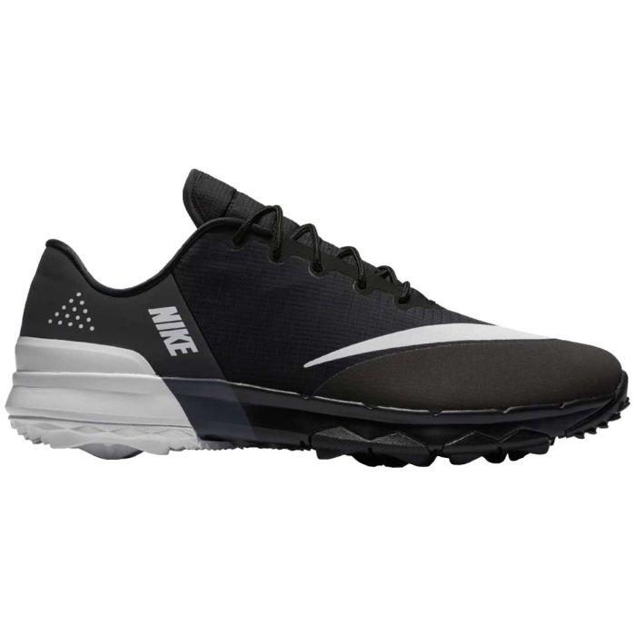 Nike FI Flex Golf Shoes Black/White