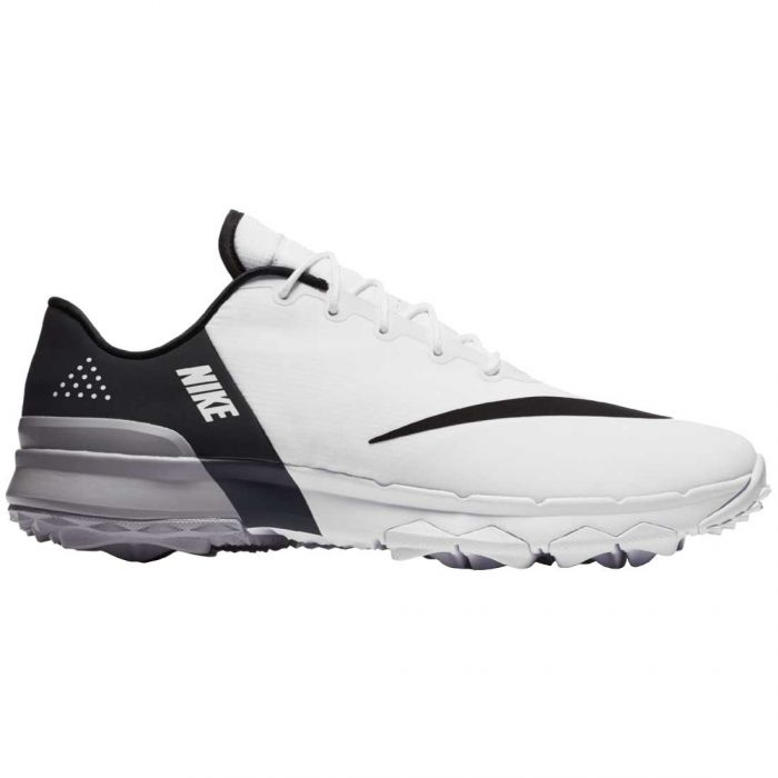 Nike FI Flex Golf Shoes White/Grey/Black