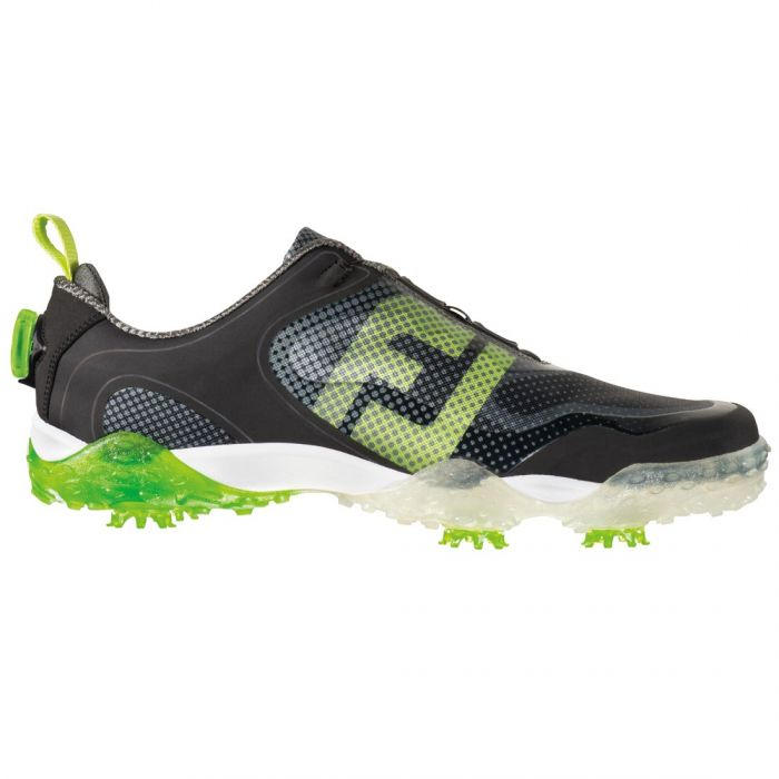 FootJoy FreeStyle Boa Golf Shoes Black/Lime