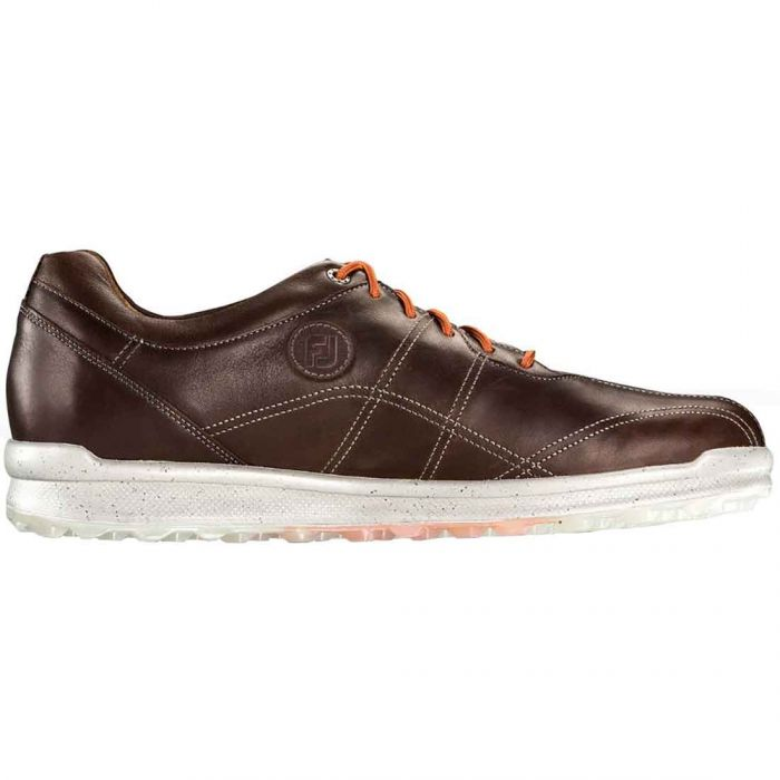 FootJoy VersaLuxe Golf Shoes Luggage Caramelo