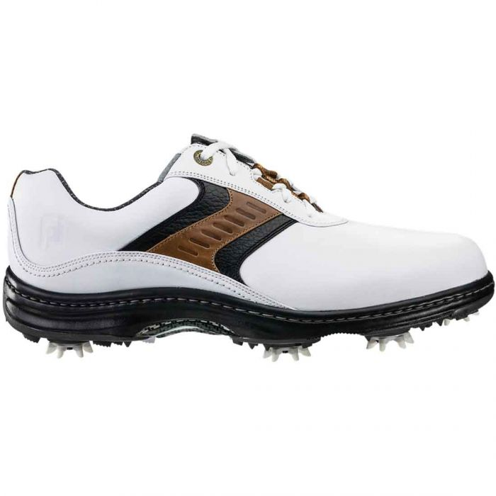 FootJoy Contour Series Golf Shoes White/Taupe