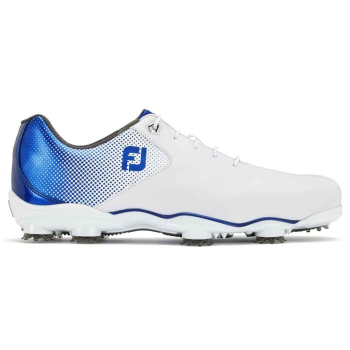 FootJoy D.N.A. Helix Golf Shoes White/Blue